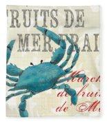 La Mer Shellfish 1 Fleece Blanket