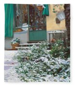 La Neve A Casa Fleece Blanket