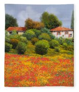 La Nuova Estate Fleece Blanket