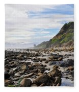 La Piedra Shore Malibu Dusk Fleece Blanket