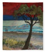 La Playa Fleece Blanket
