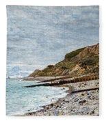 La Point De La Heve, Sainte Adresse Fleece Blanket