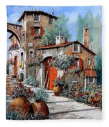 La Porta Rossa Fleece Blanket