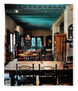 La Posada Historic Hotel Lounge Fleece Blanket
