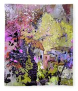 La Provence 10 Fleece Blanket