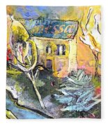 La Provence 11 Fleece Blanket