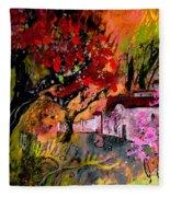 La Provence 22 Fleece Blanket