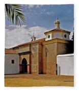 La Rabida Monastery - Huelva Fleece Blanket