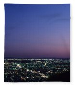 L.a. Sunset Fleece Blanket