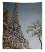 La Tour Eiffel 2 Fleece Blanket
