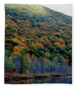 Labrador Pond Hillside Fleece Blanket