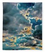 Labradorite Rain Fleece Blanket