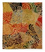 Labyrinth Fleece Blanket