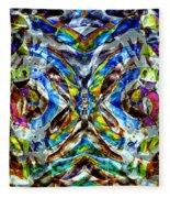 Labyrinth Of The Mind  Fleece Blanket