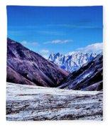 Ladakh, India, Landscape 2 Fleece Blanket