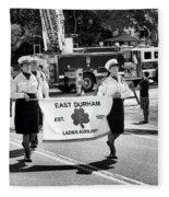 Ladies Auxiliary Of East Durham Fleece Blanket