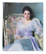 Lady Agnew Fleece Blanket