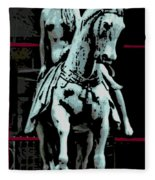 Lady Godiva 2 Fleece Blanket