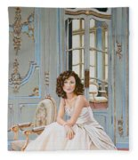 Lady In Waiting Fleece Blanket