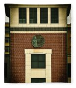 Lady Justice Of The New Century Fleece Blanket