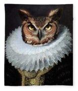 Lady Suna Fleece Blanket