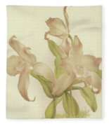 Laelia Autumnalis Venusta Fleece Blanket