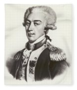 Lafayette Fleece Blanket