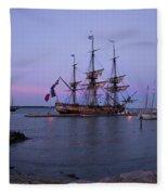 Lafayette's Hermione Fleece Blanket