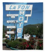 Lafon Motel Fleece Blanket
