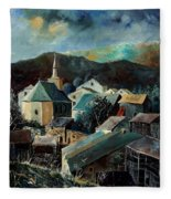Laforet Village  Fleece Blanket