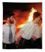 Lag B'omer Fleece Blanket