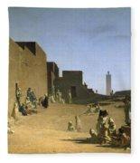 Laghouat In The Algerian Sahara Fleece Blanket