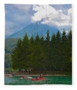 Lago Di Barcis Fleece Blanket