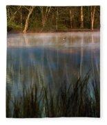 Lagoon Sunrise Fleece Blanket
