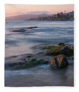 Laguna Beach Fleece Blanket