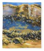 Laguna Beach Tide Pool Pattern 3 Fleece Blanket