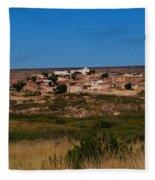 Laguna Pueblo Fleece Blanket