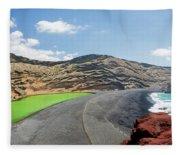 Laguna Verde Fleece Blanket