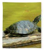 Laidback Turtle Fleece Blanket
