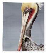 La Jolla Pelican Fleece Blanket