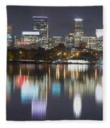 Lake Calhoun Reflection Fleece Blanket