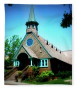 Lake Church Fleece Blanket