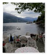 Lake Como 14 Fleece Blanket
