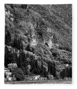 Lake Como 15b Fleece Blanket