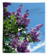 Lake Country Lilacs Fleece Blanket