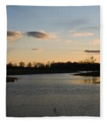Lake Cumberland County Tennessee Fleece Blanket
