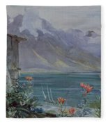 Lake Geneva Fleece Blanket
