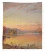 Lake George  Ny Fleece Blanket