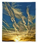 Lake Havasu Sunset Fleece Blanket