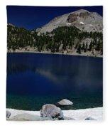 Lake Helen Lassen  Fleece Blanket